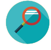 A Closer Look magnifying glass icon