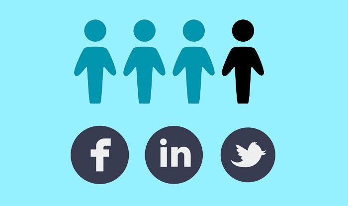 graphic image from Forbes video on social media and job searches