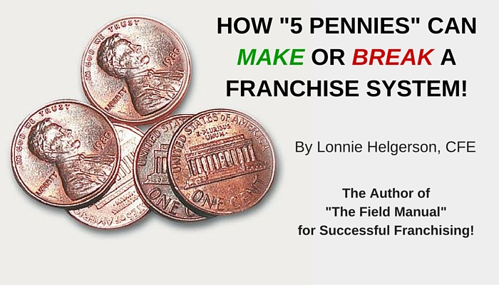How 5 Pennies Can Make Or Break A Franchise System