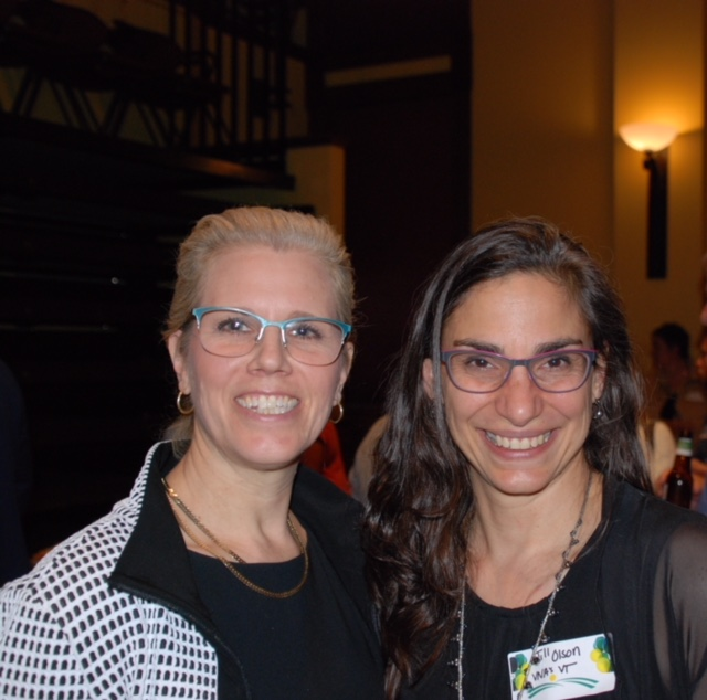 Jill with Deborah Wesley, CEO of Addison County Home Health and Hospice