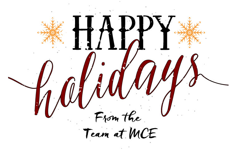 Happy Holidays from MCE