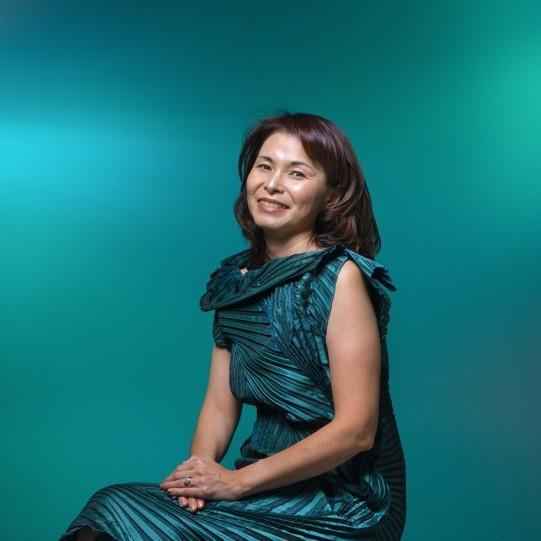 Takae Ohnishi photographed by Howard Lipin for The San Diego Union-Tribune