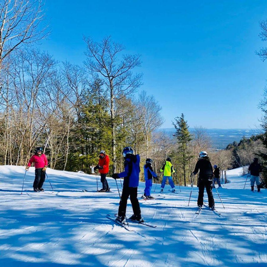 spring skiers