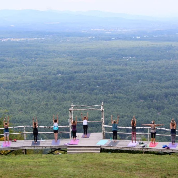 Mountaintop Yoga