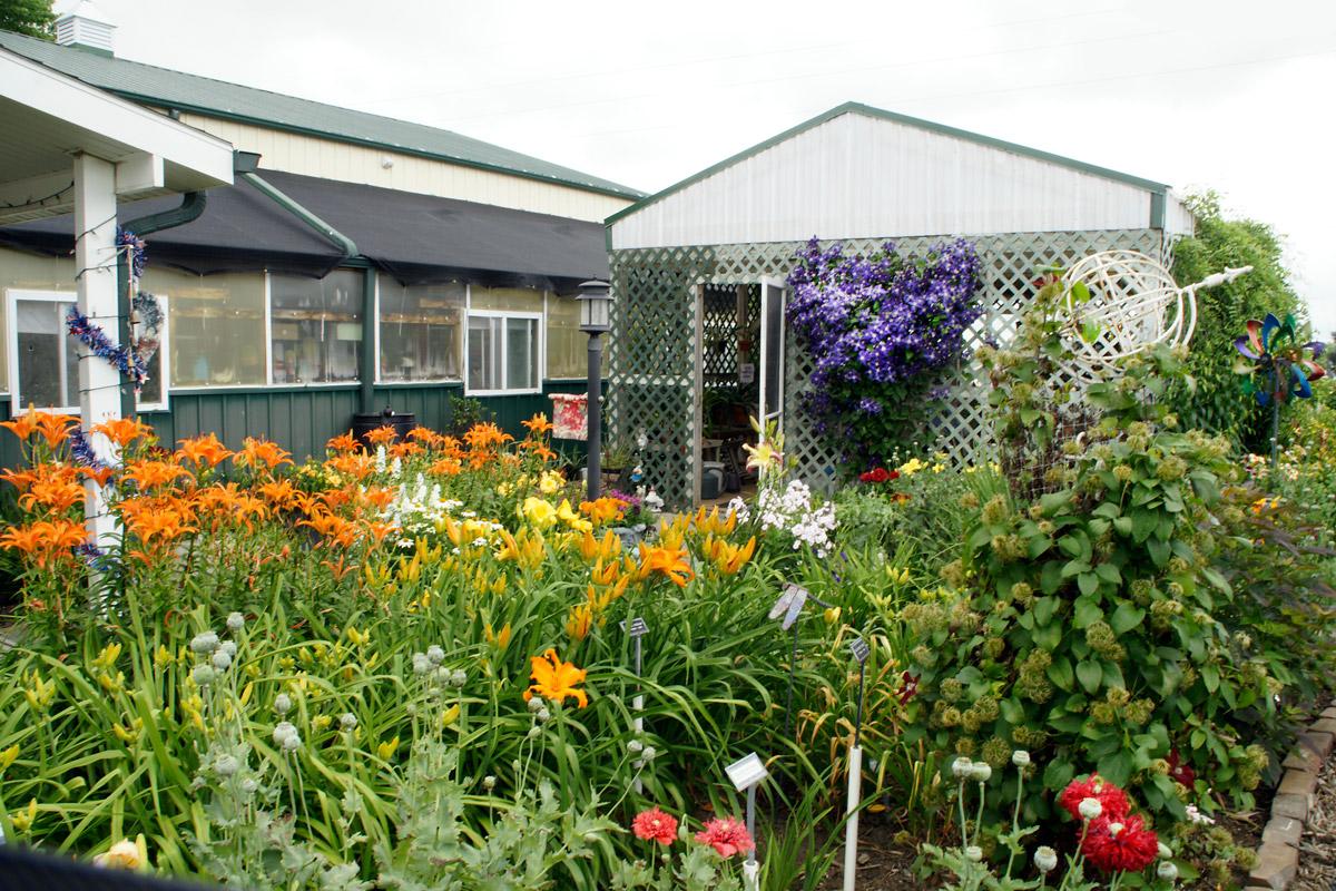 Tom and Mary Keast garden