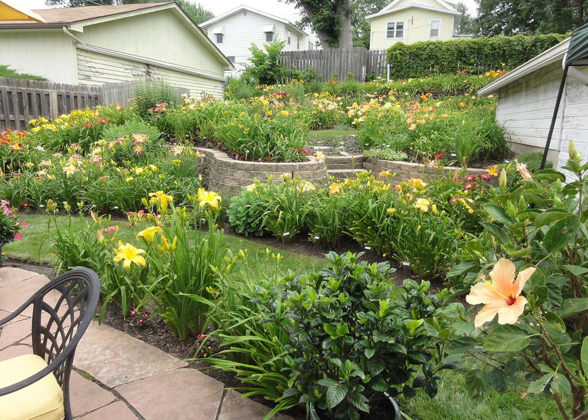 Bremers tiered garden