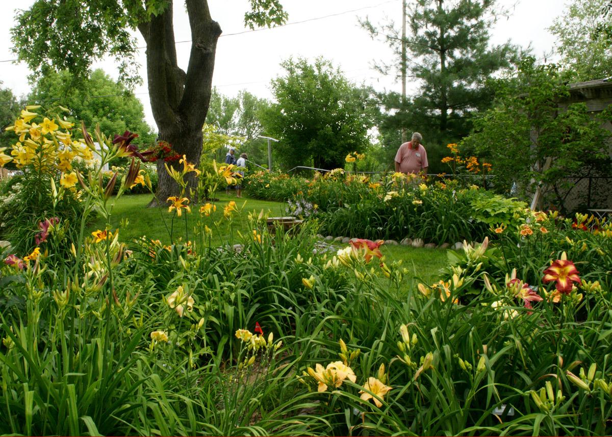 Phyllis McIntosh garden in Omaha