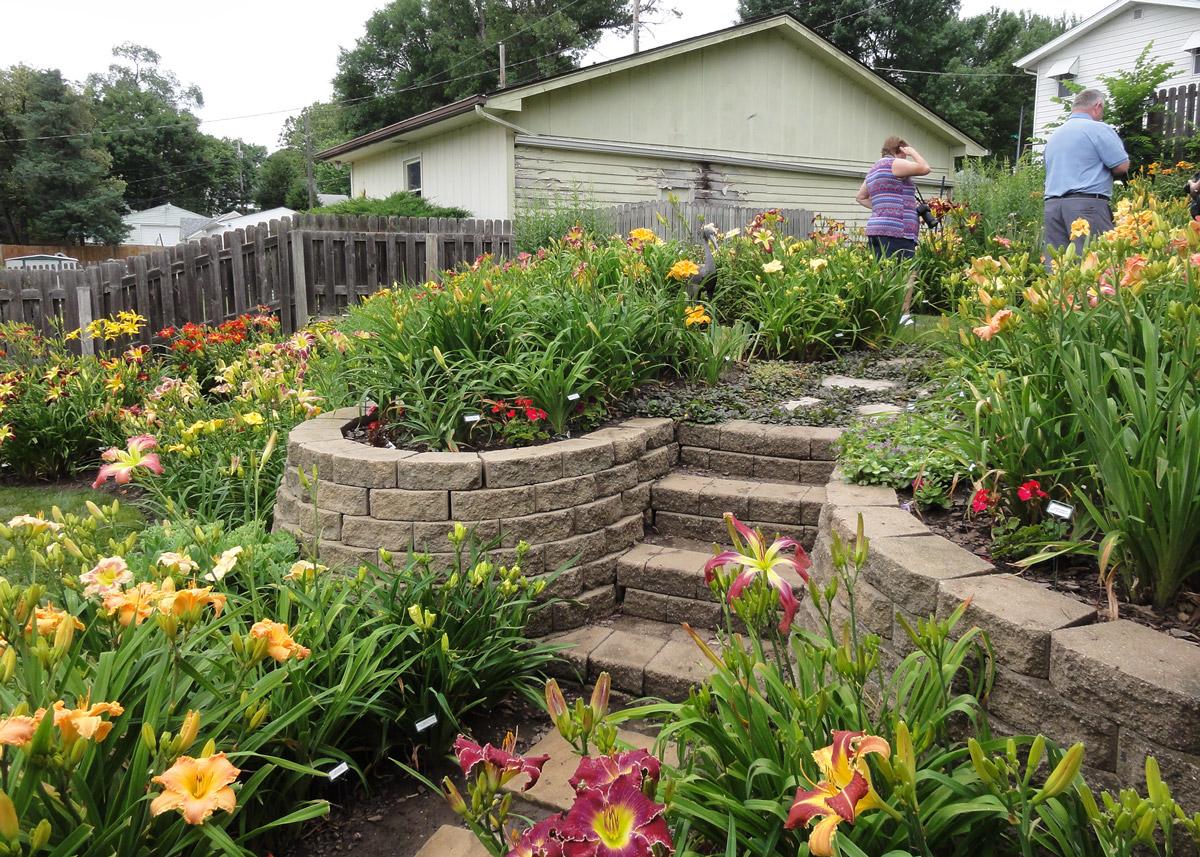 Bremers garden steps