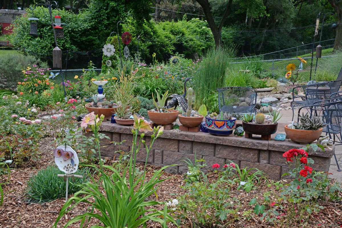 Langabee Garden Scene