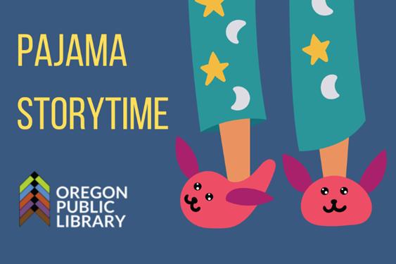 Pajama Storytime fuzzy pink bunny slippers