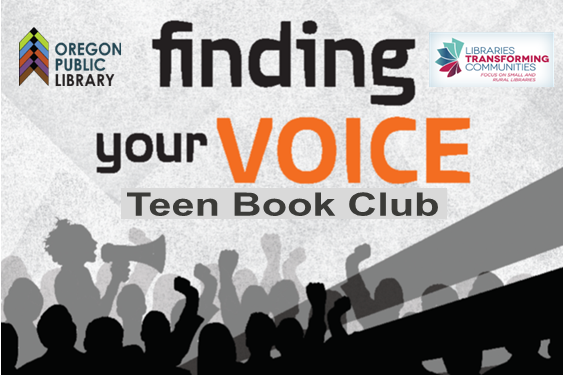 Finding your voice Teen Book Club