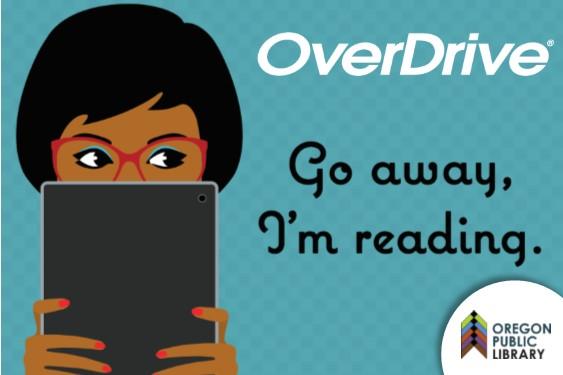 OverDrive Go away I'm reading