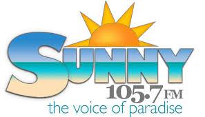 Sunny 105.7 logo