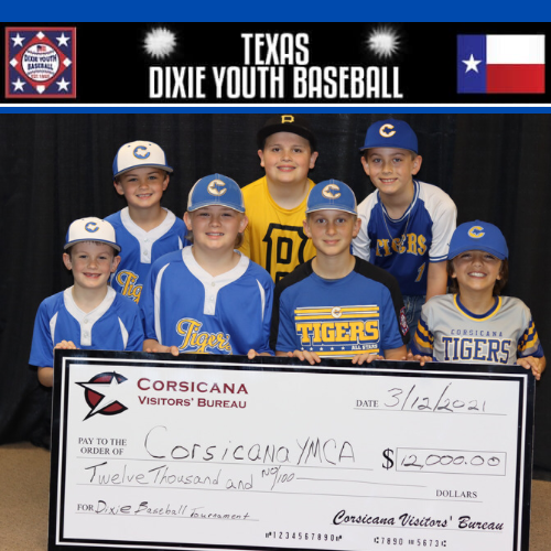 Corsicana will be a host city for the 2021 games