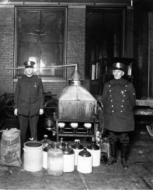 Prohibition Era Liquor Still