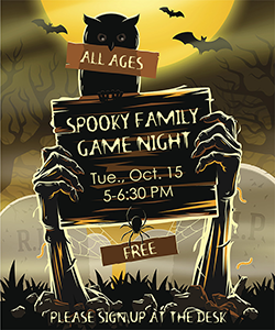 Spooky Game Night