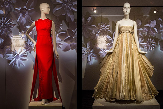 Vintage Gown by Hubert De Givenchy  _Vintage gown by Roberto Capucci