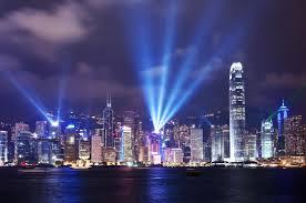 Hong Kong skyscape