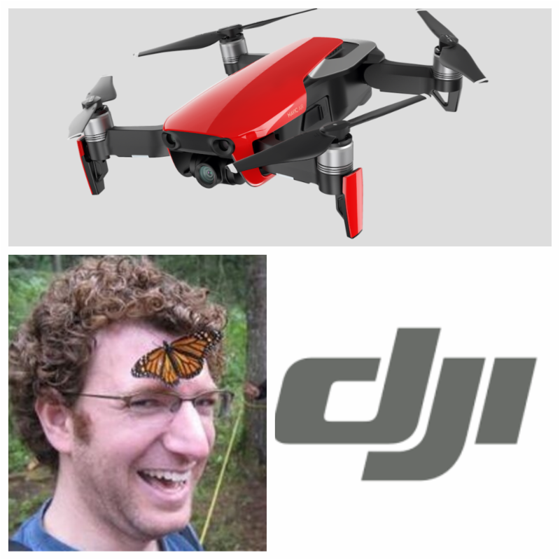 DJI drone leader