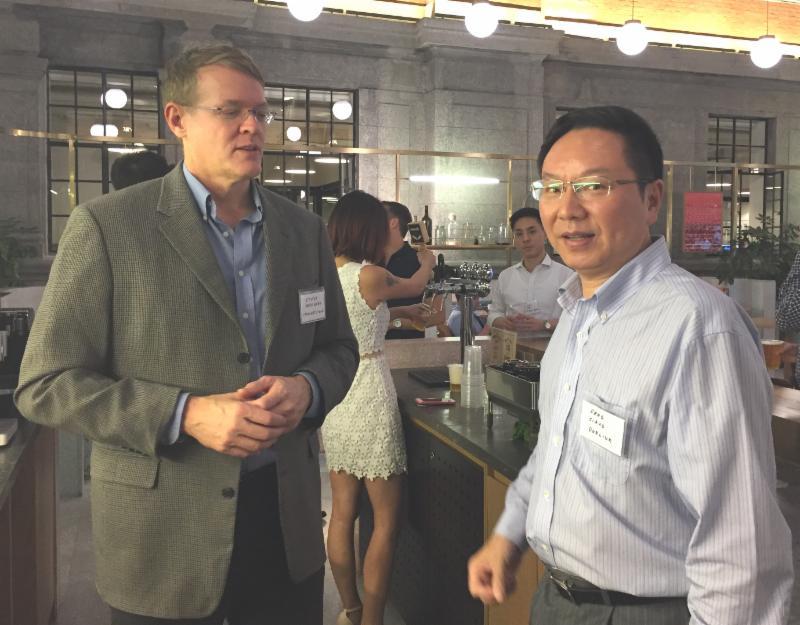 Steve Mushero, George Jiang