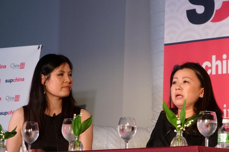 Wendy Cai, Sheryl WuDunn