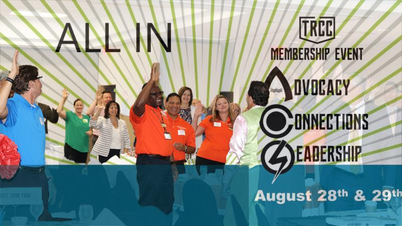 ALL IN membership campaign for TRCC