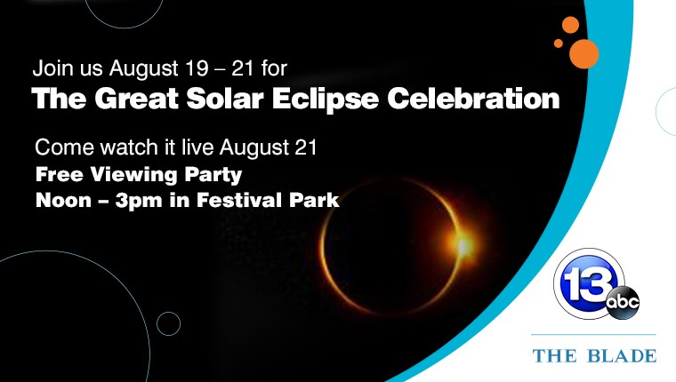 The Great Solar Eclipse Celebration_ Free Viewing Party 12-3 in Festival Park August 21.
