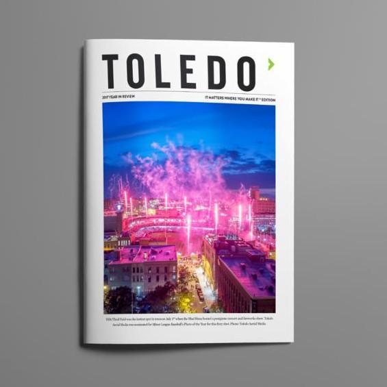 Toledo - It Matters Where You Make It Magazine Cover