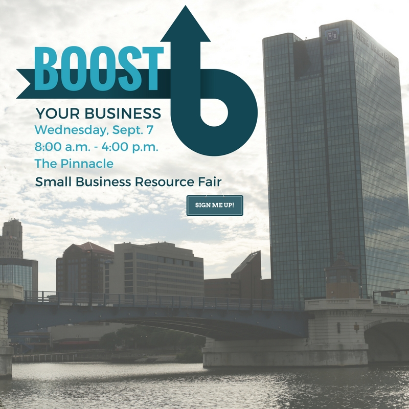 Boost Your Business Small Business Resource Fair