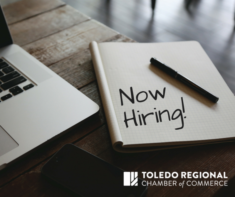 Toledo Regional Chamber of Commerce - Now Hiring