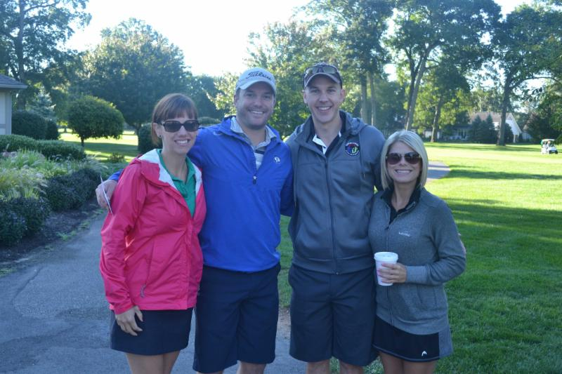 Chamber Golf Outing participants