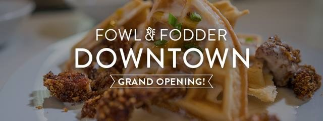 Fowl and Fodder Downtown Grand Opening_