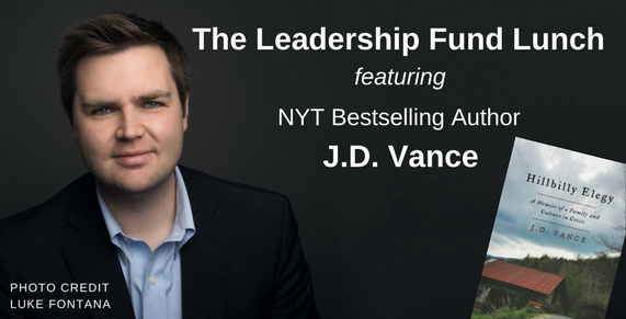 The Leadership Fund Lunch Featuring NYT Bestselling Author JD Vance _Hillbilly Elegy_