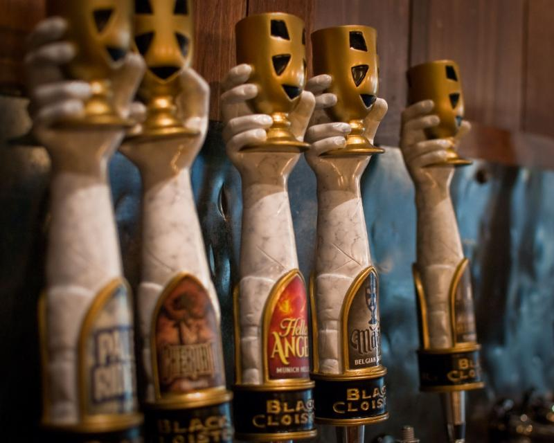 Taps at Black Cloister Brewing Company