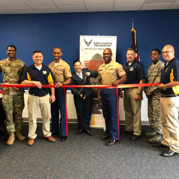 Air Force Reserve Recruiting Office - Toledo Chamber Ribbon Cutting