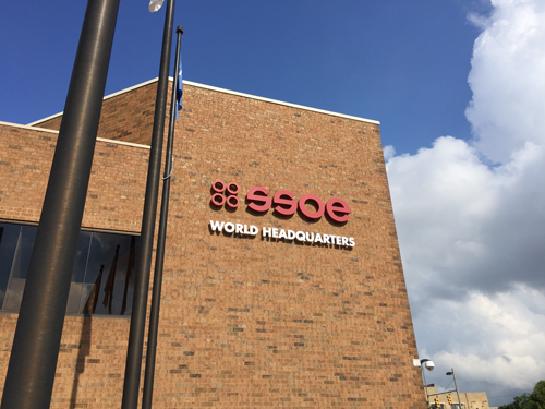 The SSOE World Headquarters in the heart of downtown Toledo