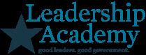 Leadership Academy. Good Leaders_ Good Government