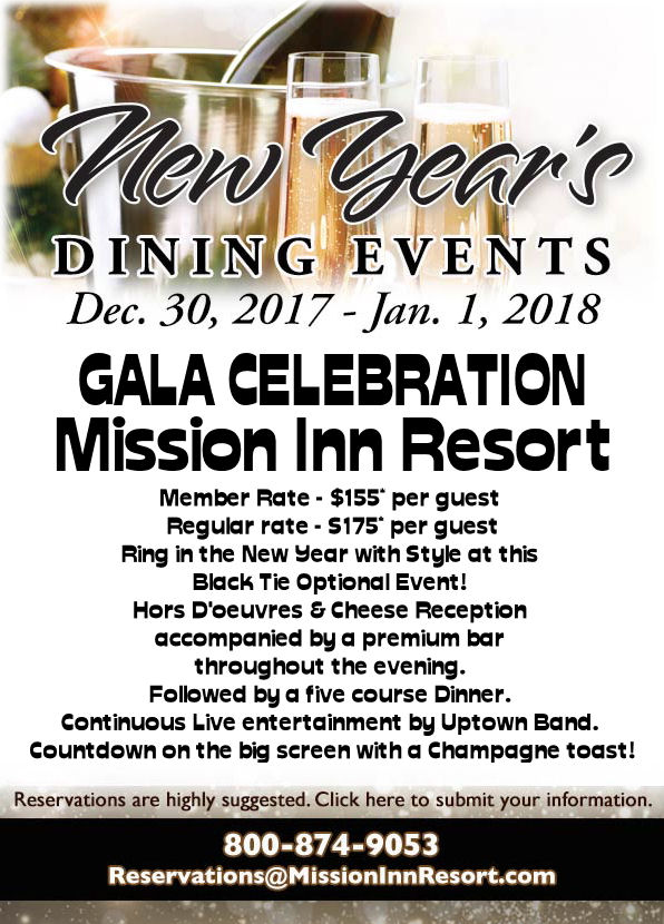 on behalf of the entire nick beucher family we would like to extend a personal invitation to join us at one of our new years dining events