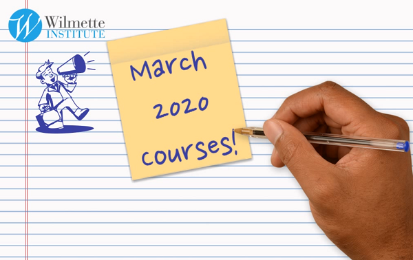 Announcing March 2020 Courses (video screenshot)