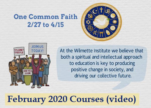 Screenshot of Feb 2020 Courses video