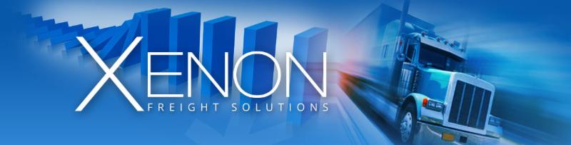 Xenon Logo with dominos