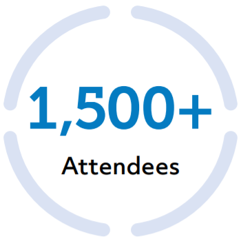 More than fifteen hundred attendees