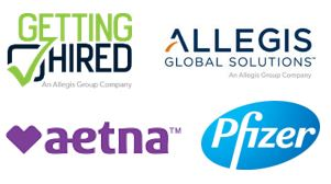 Getting Hired Allegis Global Solutions Aetna Pfizer