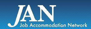 JAN. Job Accommodation Network.