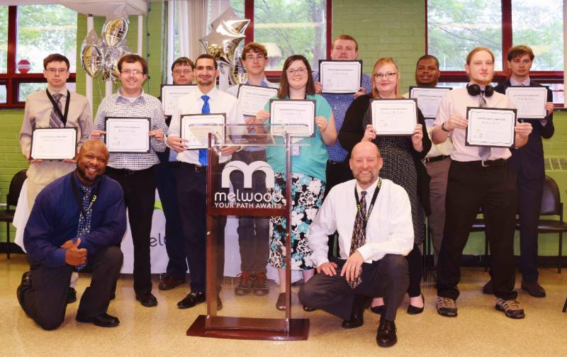 Melwood graduates from the first abilIT Class Training