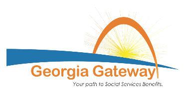 Georgia Gateway benefits eligibility system logo