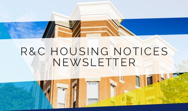 R&C Housing Notices