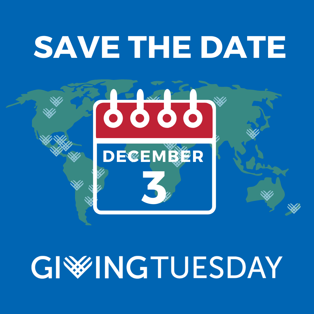 Save the Date December 3 Giving Tuesday Logo