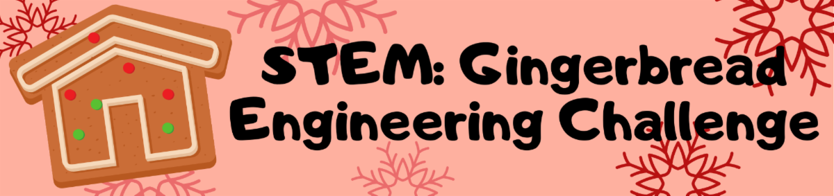 STEM Gingerbread Engineering Challenge Program Ages 9 and up