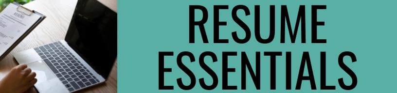 Resume Essentials Program